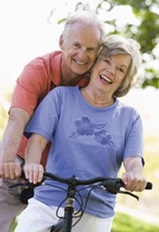 couple seniors des 50 ans