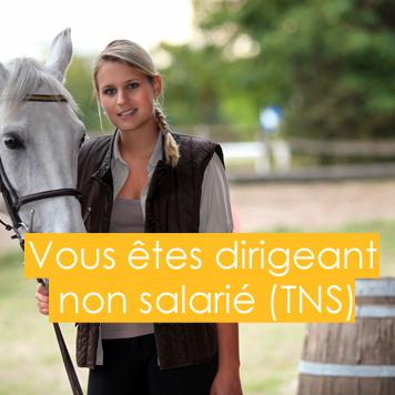 Vous êtes dirigeant non salarié (TNS)?