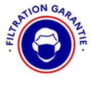 Masque filtration garantie